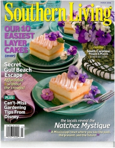 Southern Living March 2009 Cover