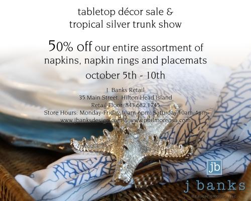 tabletop sale