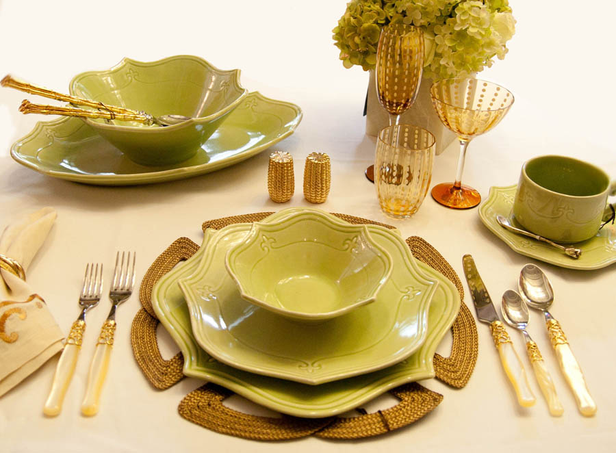 Above Is An Additional Informal Table Setting ...