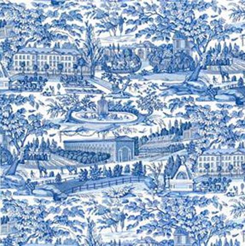 Brunschwig & Fils Blue Toile