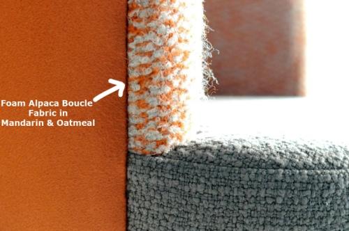 Foam Alpaca Boucle Fabric
