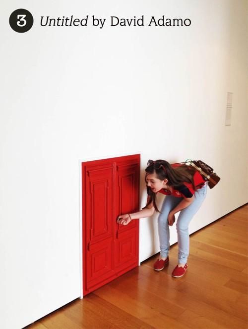 3 - Little Door