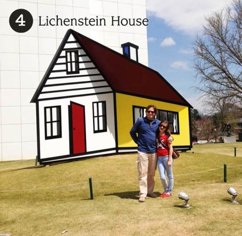 4 - Lichenstein House