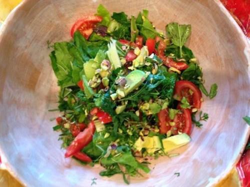 Avocado, Garden, Salad, Vegetable