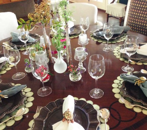 bud vase, table scape, garden, floral, dinner party