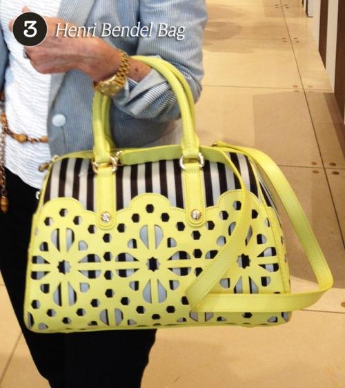 3 - Henri Bendel Bag