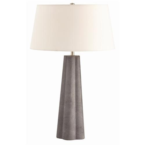 arteriors-lawton-grey-shagreen-embossed-leather-lamp